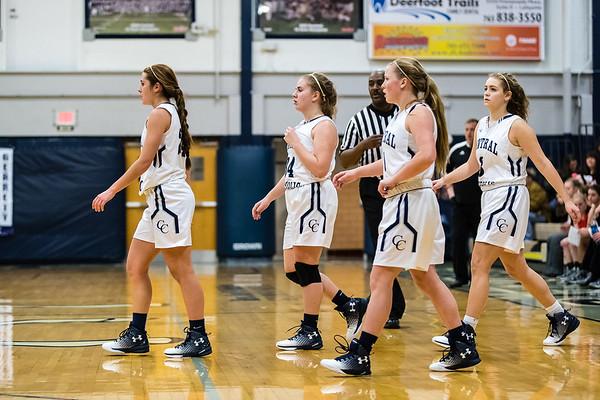 CC Varsity Girls Basketball vs Rensselaer 2017-1-7