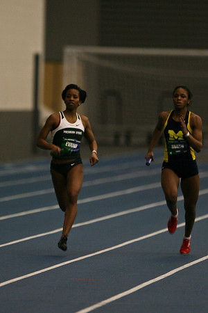 4x400 Meter Relay - 2013 UM vs MSU Indoor Meet