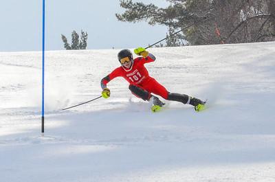 Men and Women Sl First run Slalom