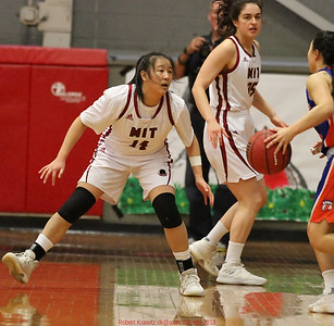 MIT-Coast Guard women's basketball Feb. 17, 2018