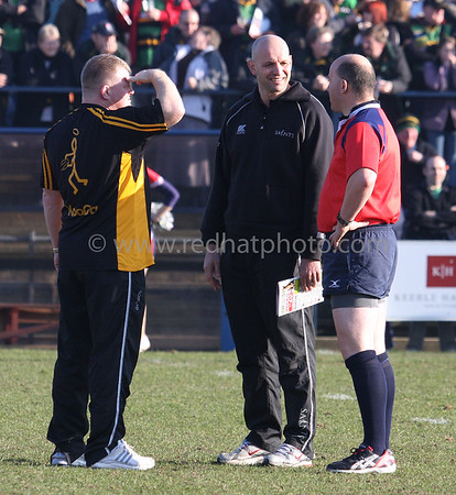 Doncaster Knights vs Northampton Saints, National Division 1, Castle Park, 10 February 2008