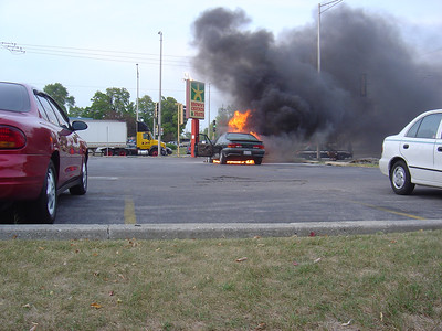 TINLEY PARK IL, CAR FIRE 9/13/2005
