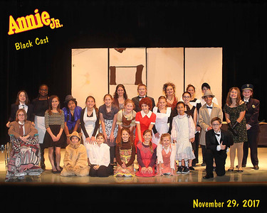 OLD QUARRY SCHOOL  - 'Annie, Jr.'  Black Cast  December 2, 2017  (253 Photos)