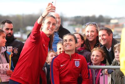 England Women v Belgium 2016