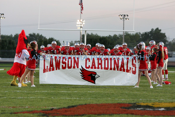 Lawson Football vs East Buc Homecoming Halftime and Second Camera for Game