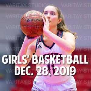 Prairie Girls Basketball, December 28, 2019