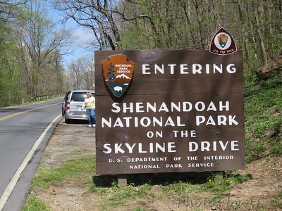Shenandoah National Park and Trip East 2016