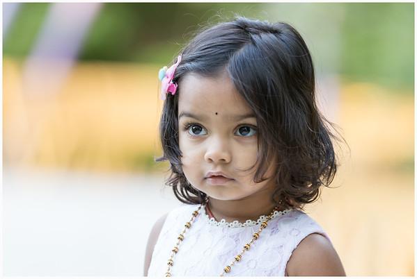 Sriya 2nd Birthday