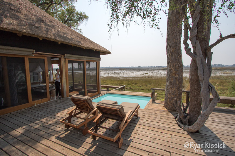 A view from our Vumbura Plains suite