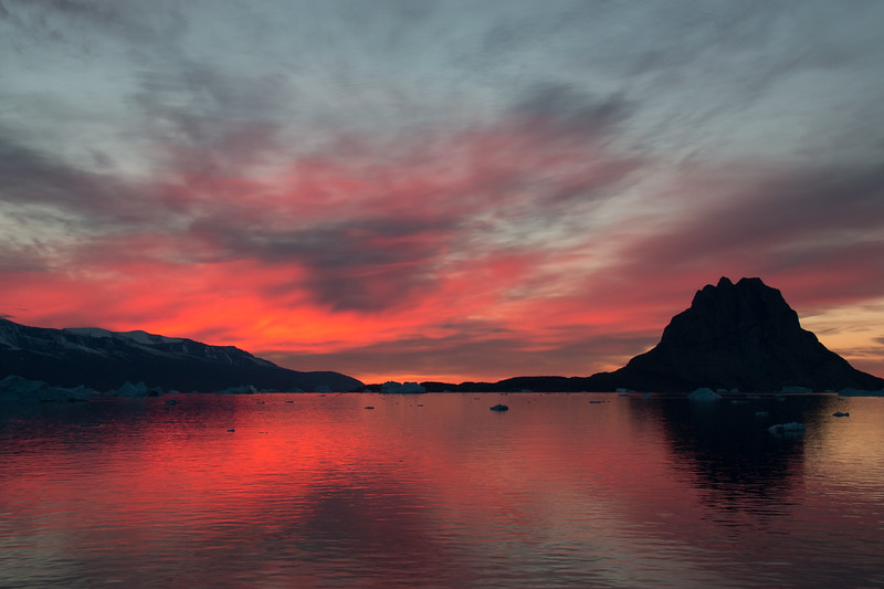 Uummannaq Sunset