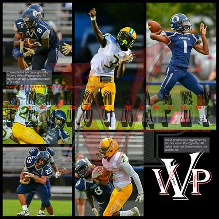 Woodbridge @ Osbourn Varsity Boys Football 8-30-18