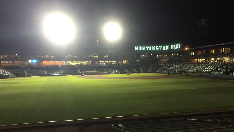AAA baseball is just around the corner from the flat!