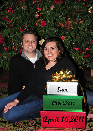 Michelle and Brian Christmas Card Photo