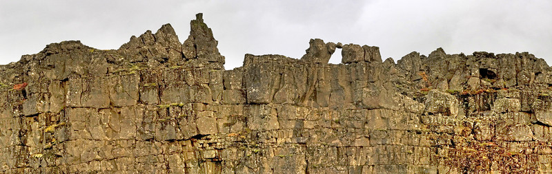 Wall at the Thingvellir