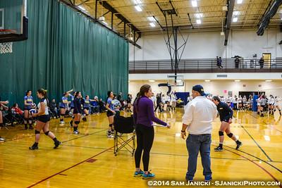 12-6-14 Michigan Women's Club Volleyball Wolverine Winter Classic