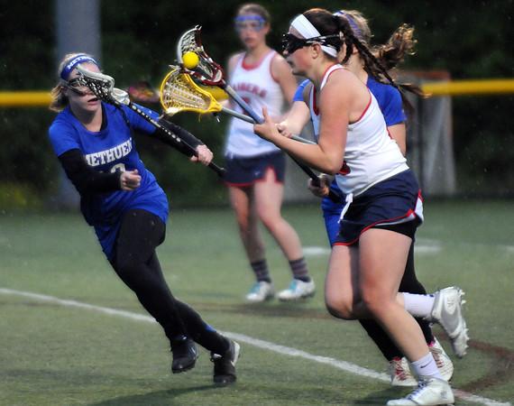 Methuen at Central Catholic girls lacrosse