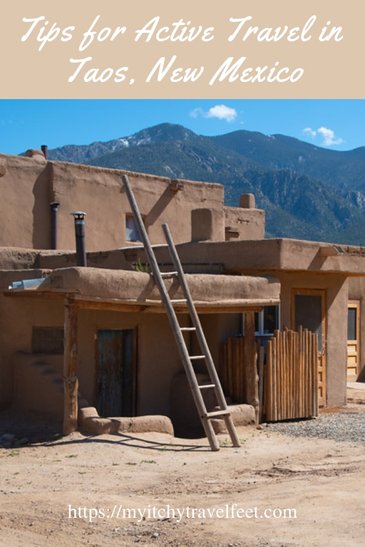 Tips for active travel in Taos, New Mexico