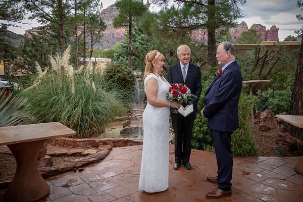 Vickey & Ron's Sedona Wedding at the Lodge