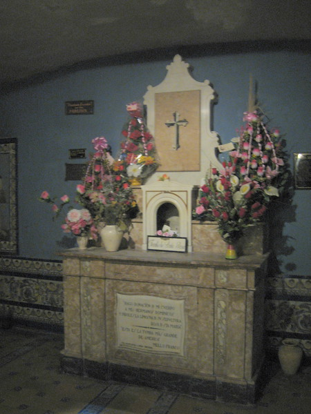 Altar at the Tomb of St. Rose of Lima, Convent de Santo Domingo, Lima, Peru