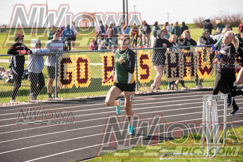 Gehlen Catholic Girls Track - War Eagle Conference Track Meet 2021