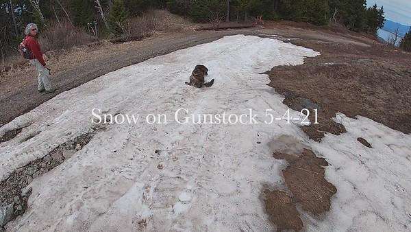 Snow on Gunstock 5-4-21