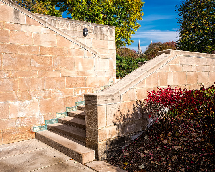 Stairway to Cathedral of Learning