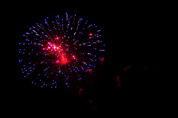 Fireworks In Peachtree City