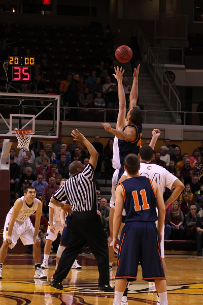 Calvin-Hope Men's Basketball - MIAA Championship - 2/28/15