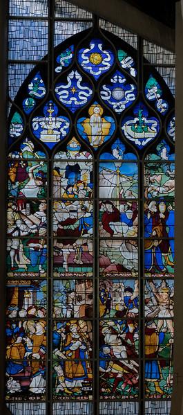 Rouen, Jeanne d'Arc Church - The Saint-Vincent Window