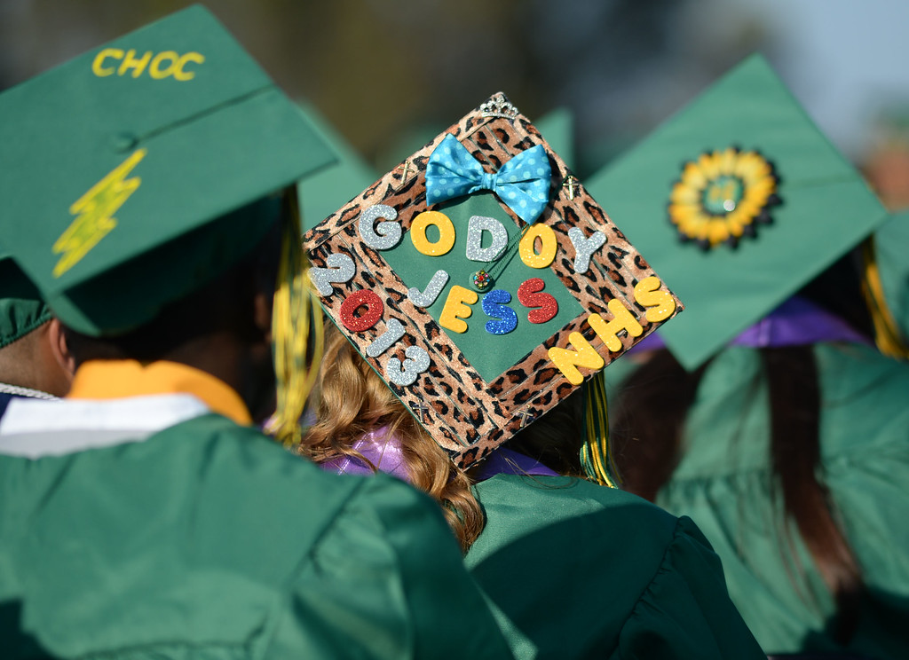 . Narbonne High School\'s 131st Commencement for the Class of 2013 Thursday. 20130606 (Steve McCrank/Daily Breeze)