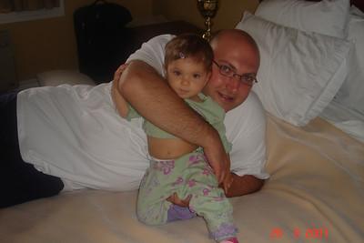 Gabi - 11 months ,Collingwood vacation and Bev & Brad visit