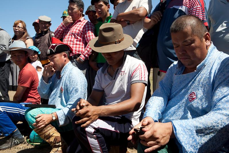 Ankle Bone Shooting at Annual Naadam Festival