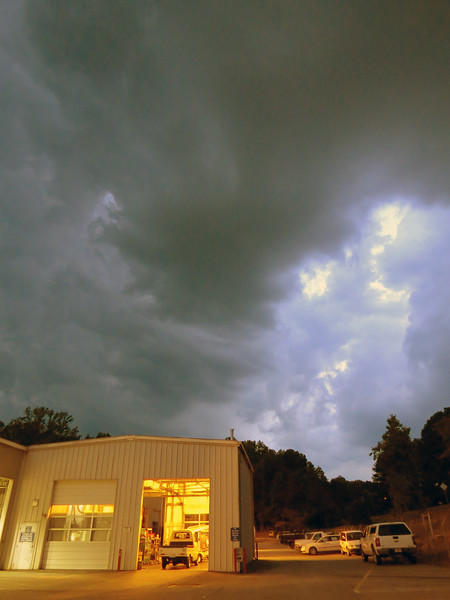 May 31:  More threatening skies .  .  .