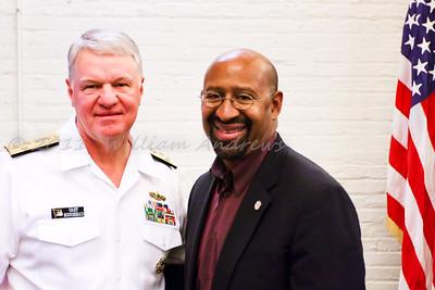 MESA Program at Phila Navy Yard Admiral Roughead & Mayor Nutter