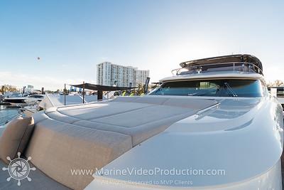 MCY Yachts Miami Yacht Show 2018