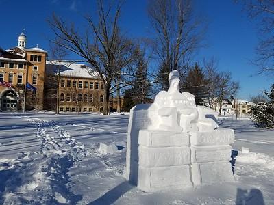125th Anniversary Snow Sculpture