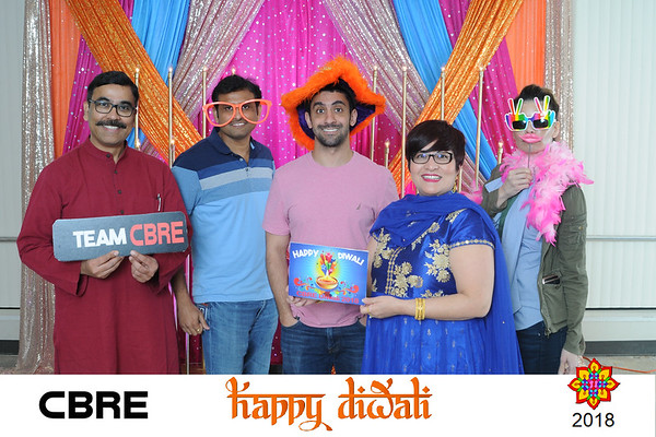 CBRE Diwali 2018-Pink Backdrop Photos