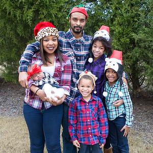 Phillips Family Christmas Photos