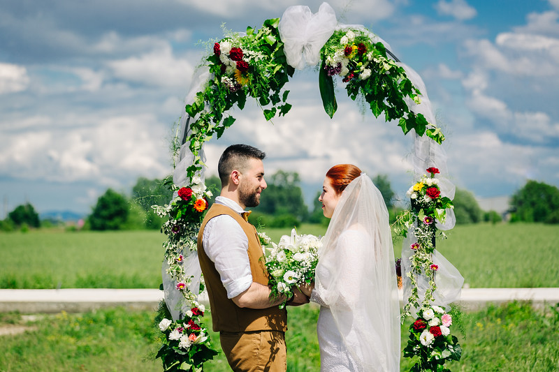 Tünde és Tika esküvője