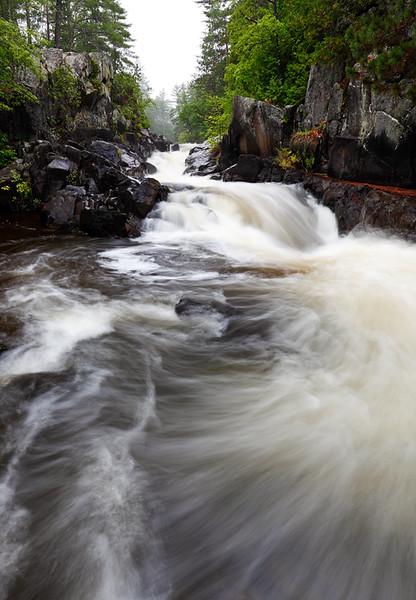 Rainy Run Down II - Dave's Falls (Amberg, WI)