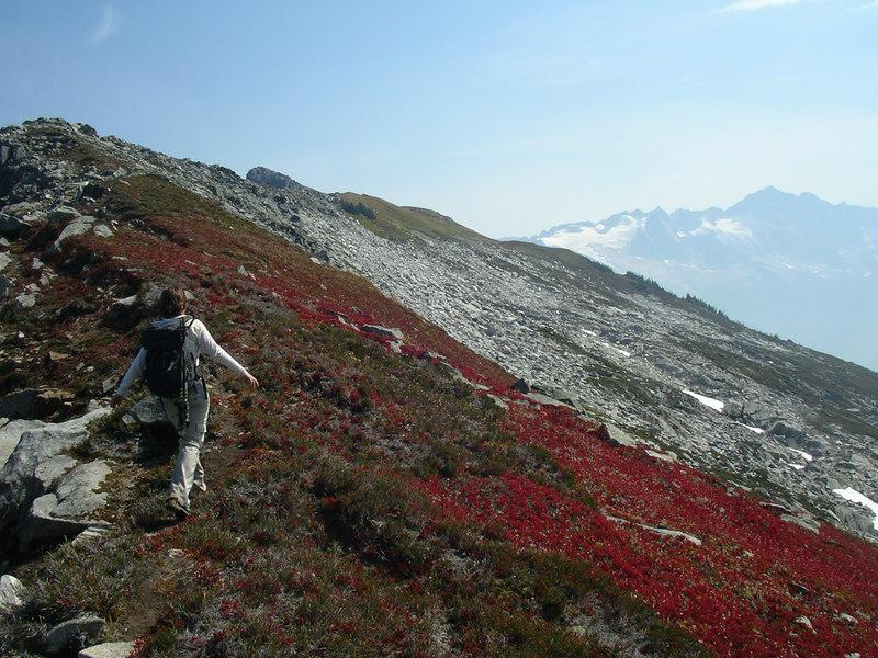I looooove ridge walks.