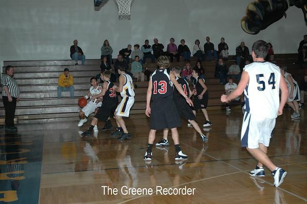 Basketball JV vs West Fork
