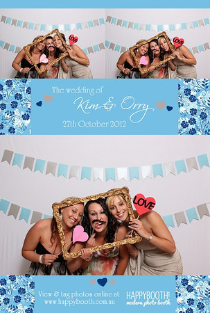 Kim and Orry's Wedding