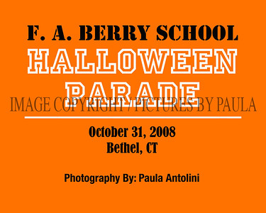 F. A. Berry School ~ HALLOWEEN PARADE ~ Bethel, CT ~ 10-31-08