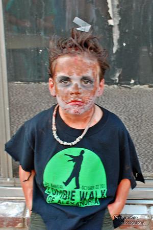 Alex. La 4th annual zombie walk