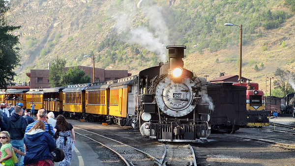 Riding the Durango & Silverton Narrow Gauge Railroad
