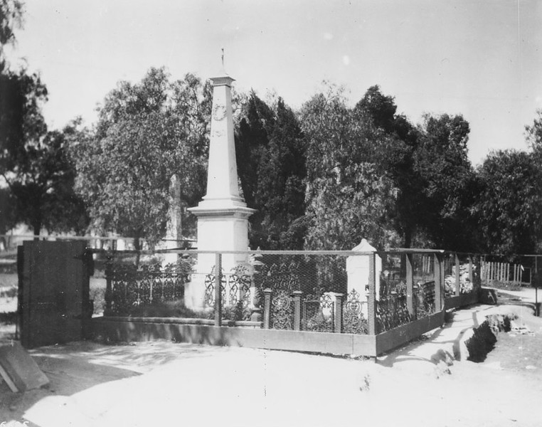 1925, Workman Monument