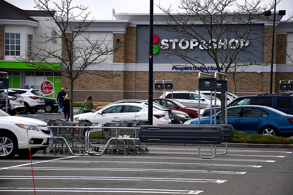 3/14/2020 Mike Orazzi | Staff The Stop & Shop in Berlin on Saturday.