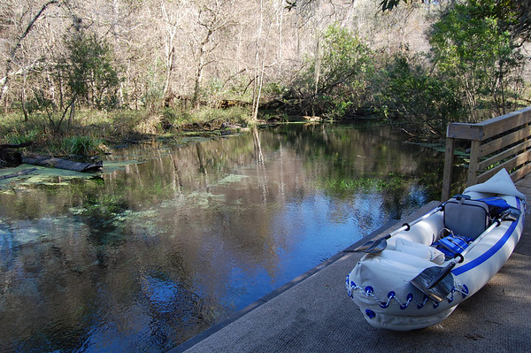 Journal Site 146: Paddling The Ichetucknee River, Fort White, FL - Dec 20, 2009