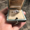2.23ct Old European Cut Diamond Edwardian Solitaire GIA I VS1 17